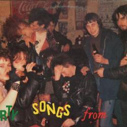 LP-hoes The Dirty Scums, Zomergem, 1985