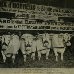 Winnend vee Léon Boufflerd, 1932