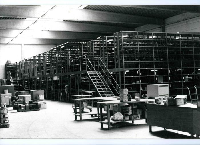 Wisselstukkenmagazijn Kuhlmannsite, 1987