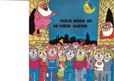 LP-hoes Vuile Mong en de Vieze Gasten, Zomergem, 1984