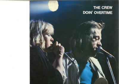 LP-hoes The Crew, Zomergem, 1986