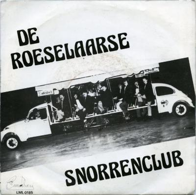 Single-hoes De Roeselaarse Snorrenclub, Zomergem, 1980-1985