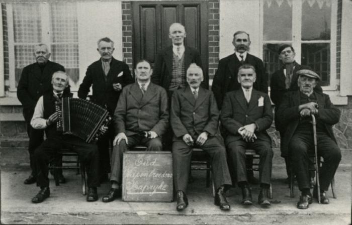 Oud-strijders, Kaprijke, 1970-1980