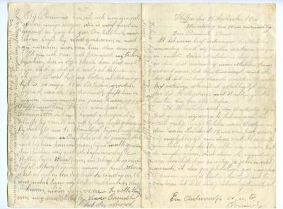 Brief Kamiel De Smet (Heffen), Sleidinge, 1914