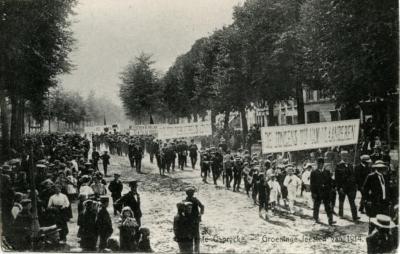 Groeningefeesten, Kaprijke, 1914