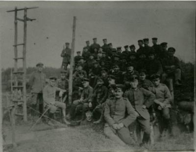 Soldaten, Kaprijke, 1914-1918