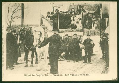Wagen Vlasnijverheid, Kaprijke