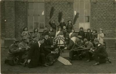 Toneelgroep Vrouw de Bruijne, Kaprijke, 1921
