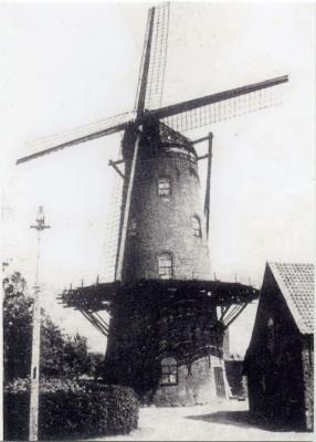 Voorzijde Maeyensmolen, Knesselare, 1930-1939