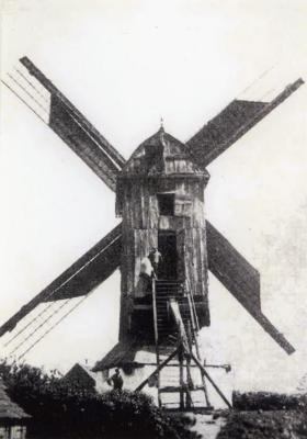 Pietendriesmolen, Knesselare, 1936