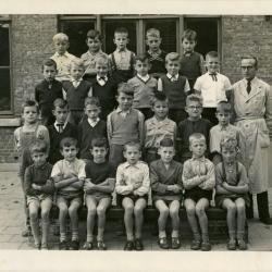 Klasfoto Sint-Jozefschool Ertvelde, 1947