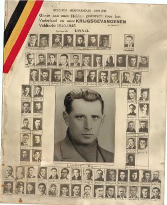 Krijgsgevangenen en slachtoffers WOII, Ursel