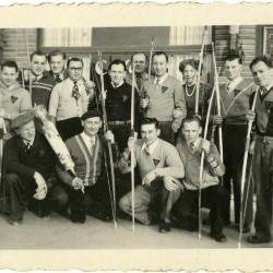 De boogschuttersclub Edelweiss.