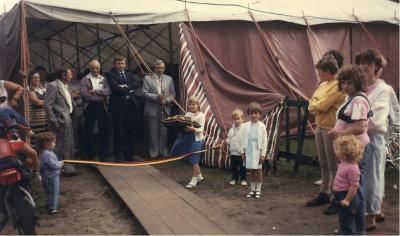 Opening Oostmoerkermis 1983