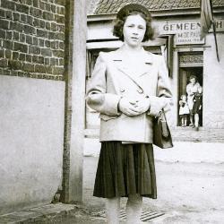 Plechtige Communie Anaïs in 1955