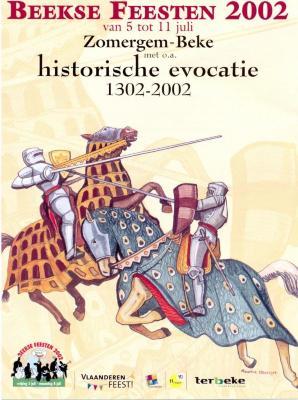 Affiche van Historische evocatie