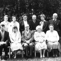 Bestuur Ziekenzorg in 1987