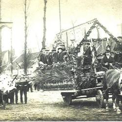 Stoet in Bassevelde, 1914