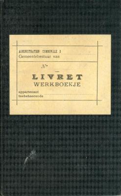 Werkboekje Aimé Van Geete