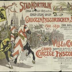 Grooten Historischen Stoet / Grand Cortége Historique  Stad Kortrijk