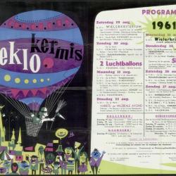 Feestprogram Kermis 1946 Stad Eeklo