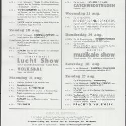 Programma 1967 Eeklo