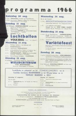 Programma 1966 Eeklo