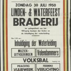 Linden- en waterfeest braderij Ertvelde
