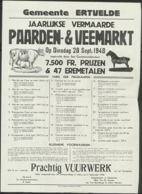 Paarden- en veemarkt Ertvelde