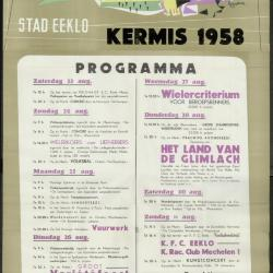 Kermis 1958 Stad Eeklo