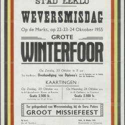 Kermis 1956 Stad Eeklo