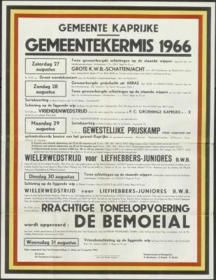 Gemeentekermis 1966 Kaprijke