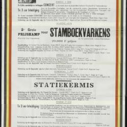 Kalender der Zomerschietingen - Liggende Wip 1961 Ertvelde