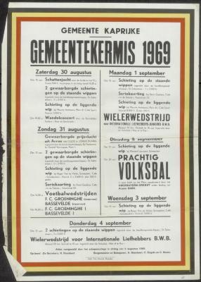 Gemeentekermis 1969 Kaprijke