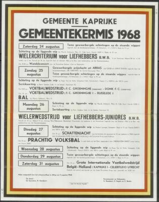 Gemeentekermis 1968 Kaprijke