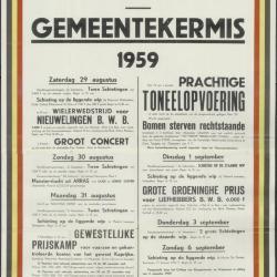 Gemeentekermis 1960 Kaprijke