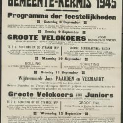 Gemeentekermis 1954 Waarschoot