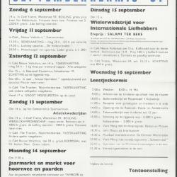Septemberkermis Waarschoot