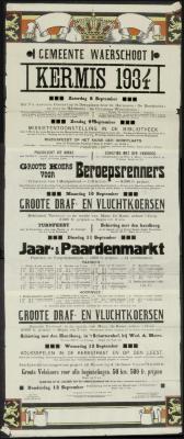 Kermis 1934 Waerschoot