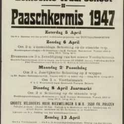 Paaskermis 1975 Waarschoot