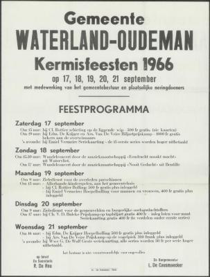 Kermisfeesten Waterland-Oudeman